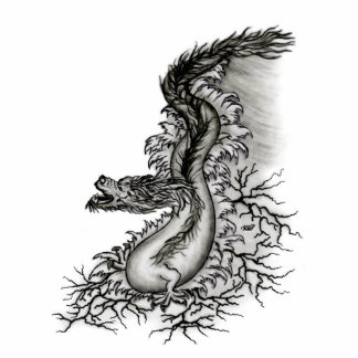 China dragon - key supporters statuette