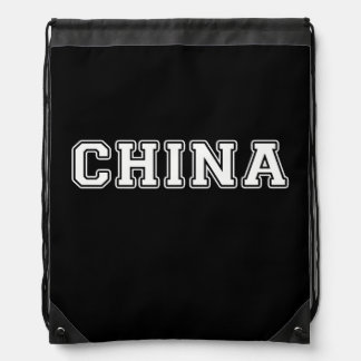 China Drawstring Backpack