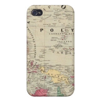 China EaSt. Indies Australia and Oceanica iPhone 4/4S Covers