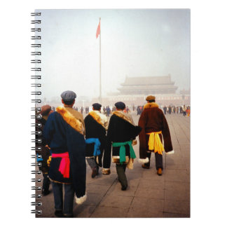 China en el invierno - celebración en Pekín Cuadernos