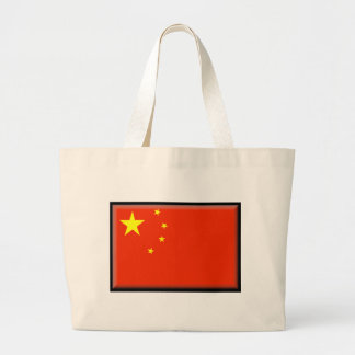 China Flag Canvas Bags