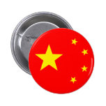 """China Flag """"Classic"""" Buttons"""