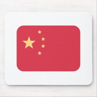 China Flag - Emoji Twitter Mouse Pad