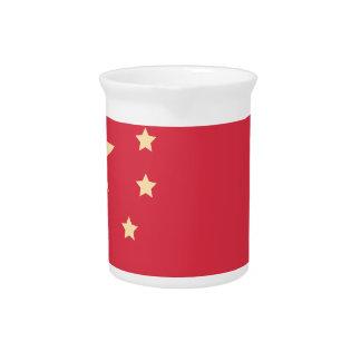 China Flag - Emoji Twitter Pitcher
