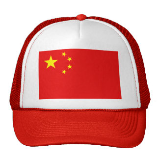 China Flag Hat