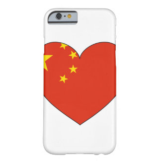 China Flag Heart Barely There iPhone 6 Case