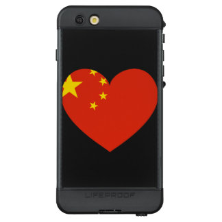 China Flag Heart LifeProof NÜÜD iPhone 6s Plus Case