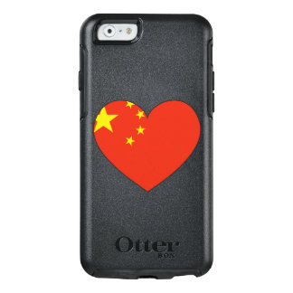 China Flag Heart OtterBox iPhone 6/6s Case