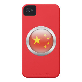 China Flag in Orb Case-Mate iPhone 4 Case