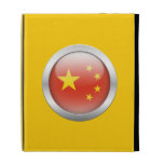 China Flag in Orb iPad Folio Cases