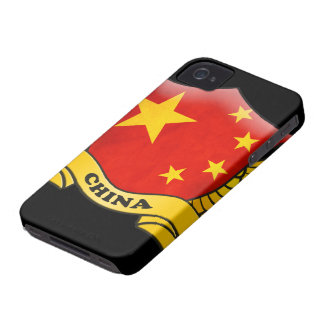 China Flag iPhone 4/4S Case-Mate Barely There iPhone 4 Case-Mate Case