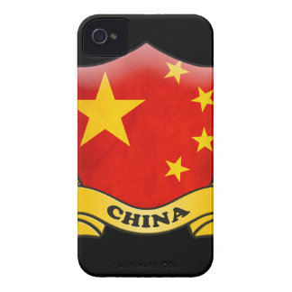 China Flag iPhone 4 ID Case-Mate iPhone 4 Case-Mate Cases
