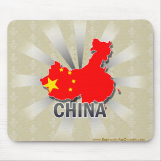 China Flag Map 2.0 Mouse Pads