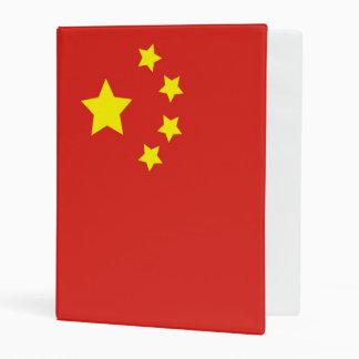 China Flag Mini Binder