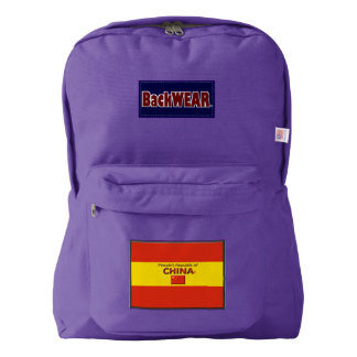 China Flag Modern Designer backpacks Buy Online