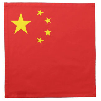 China Flag Napkin