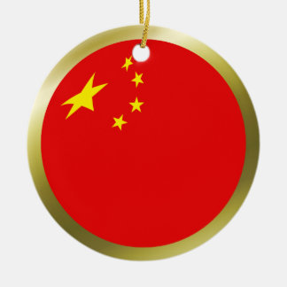 China Flag Ornament