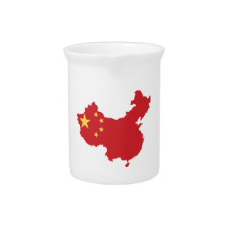 China Flag Drink Pitchers