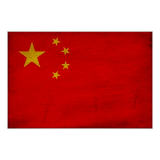 China Flag Posters