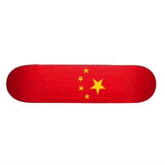 China Flag Skateboard Deck