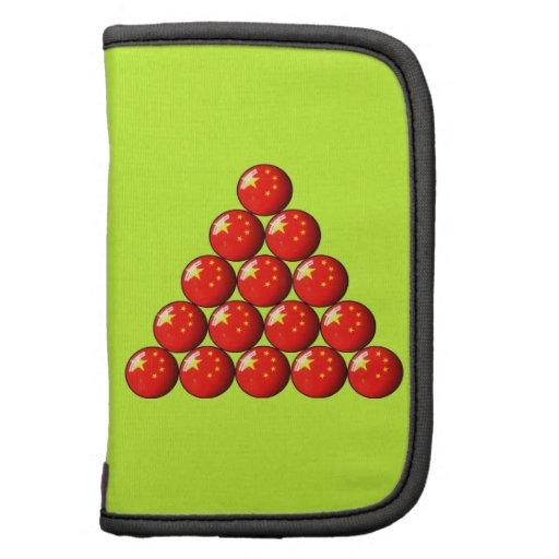 China Flag Snooker Balls Planner