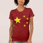 China Flag Star T-shirts