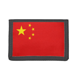 China Flag Wallet