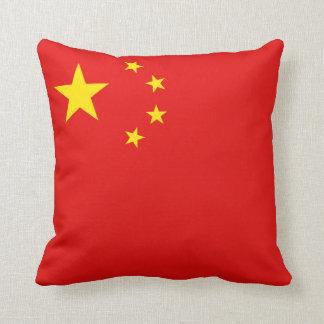 China Flag x Flag Pillow