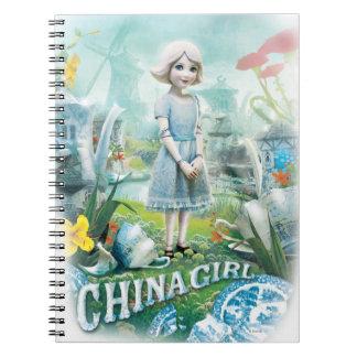 China Girl 1 Spiral Notebook