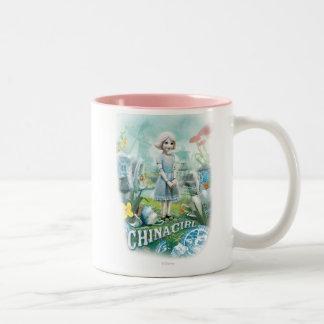 China Girl 1 Two-Tone Coffee Mug