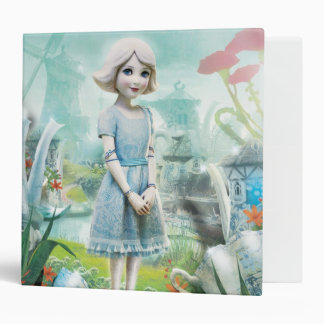 China Girl 1 Vinyl Binder