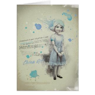 China Girl 2 Card