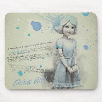 China Girl 2 Mouse Pad