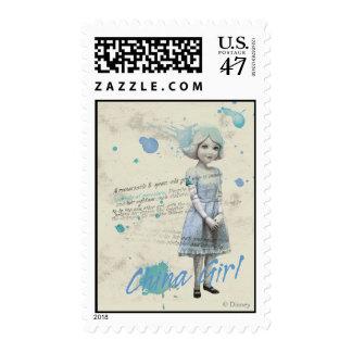 China Girl 2 Postage Stamp