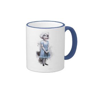 China Girl 2 Ringer Coffee Mug