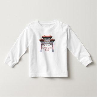 China Girls Rock Toddler T-shirt