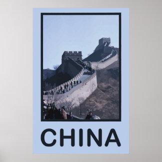 China Great Wall Of China Print