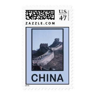 China Great Wall Of China Stamp