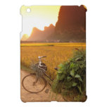 China, Guangxi. Yangzhou, Bicycle on country Case For The iPad Mini