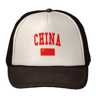 CHINA TRUCKER HAT