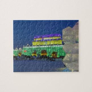 CHINA, Heilongjiang Province, Haerbin (Harbin). Jigsaw Puzzles