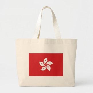 China Hong Kong Flag Canvas Bags