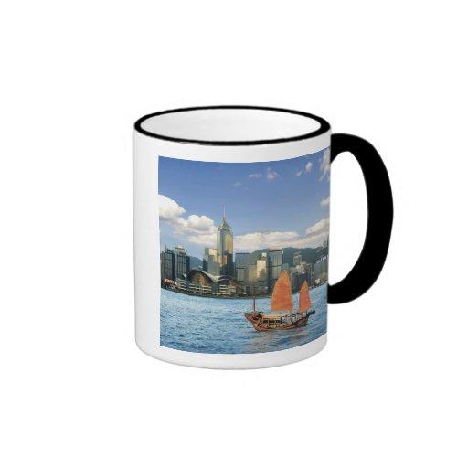 China; Hong Kong; Puerto de Victoria; Puerto; A Taza De Café