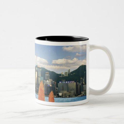 China; Hong Kong; Puerto de Victoria; Puerto; A Tazas