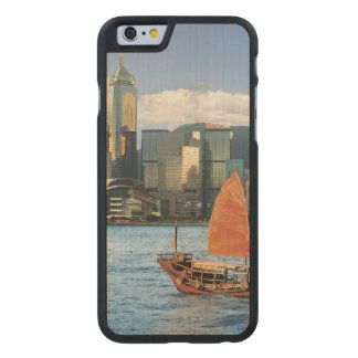 China; Hong Kong; Victoria Harbour; Harbor; A Carved Maple iPhone 6 Case