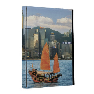 China; Hong Kong; Victoria Harbour; Harbor; A iPad Folio Covers