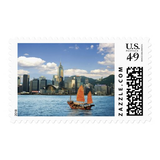 China; Hong Kong; Victoria Harbour; Harbor; A Stamps