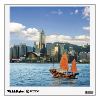 China; Hong Kong; Victoria Harbour; Harbor; A Wall Sticker