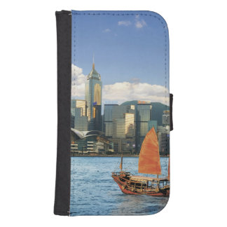 China; Hong Kong; Victoria Harbour; Harbor; A Wallet Phone Case For Samsung Galaxy S4