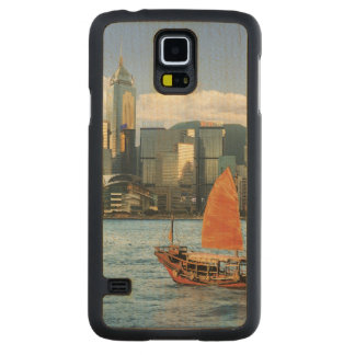 China; Hong Kong; Victoria Harbour; Harbor; A Carved® Maple Galaxy S5 Case